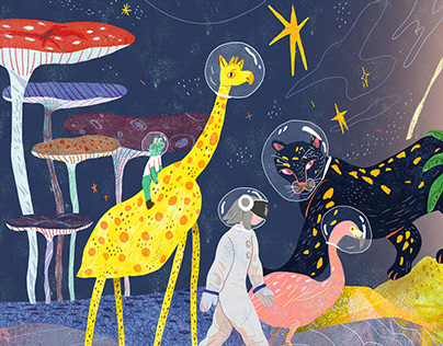 JINJI KIKKO | Music Art | Album Illustration Design