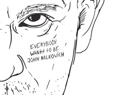 "Tee ""Welcome"" (Being John Malkovich)"