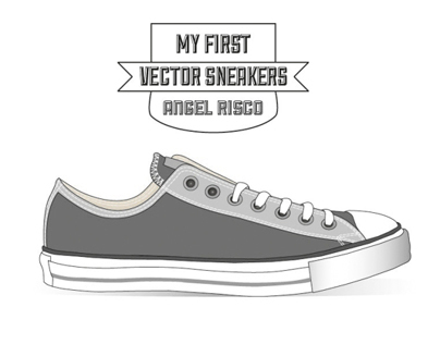 My first vector sneakers