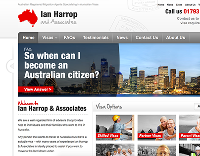 Ian Harrop - Design & Build
