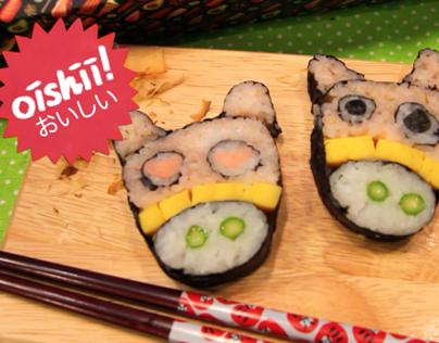 Maki-San: Sushi Art Series