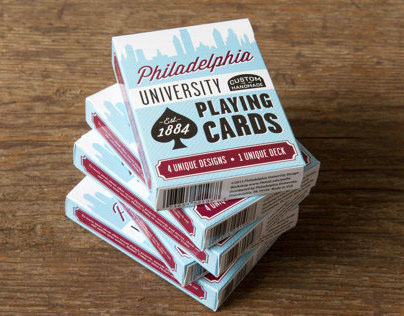 PhilaU Deck of Cards