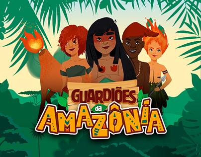 BOARD GAME   GUARDIÕES DA AMAZÔNIA
