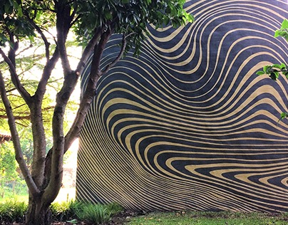 TIME SPACE exterior mural