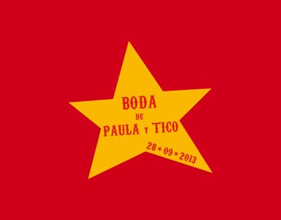 PAULA & TICO Circus Weddin / Boda circense PAULA Y TICO