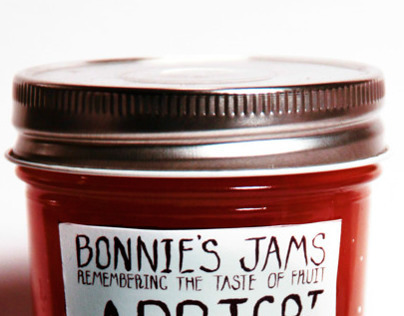 Bonnie's Jams Packaging