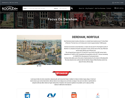 Rooplex.com Custom Page Template