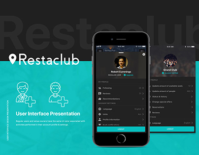 Restaclub [UI presentation]