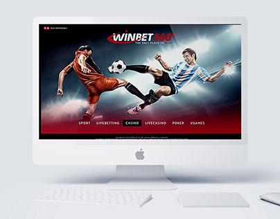 WinBet360 - Landing Page