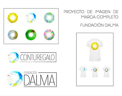 Proyecto de imagen de marca completo: Fundación Dalma