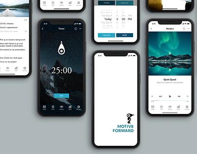 Motiv8 Forward // task app