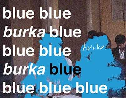 Poster Series / Tibor Kalman × Burka Band / 2016