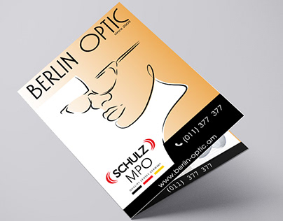 Price List Design for Berlin Optic