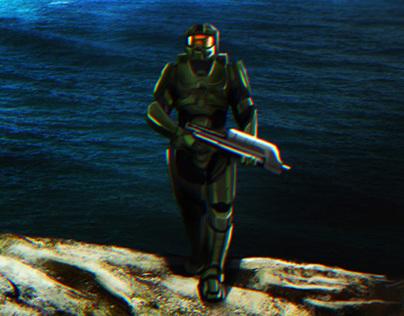 Halo - Matte Painting