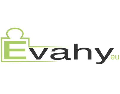 Evahy logo and web design (digital scale ecommerce)