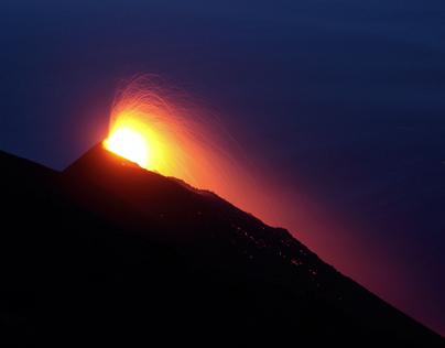 Stromboli - Magma, notti stellate e roccia