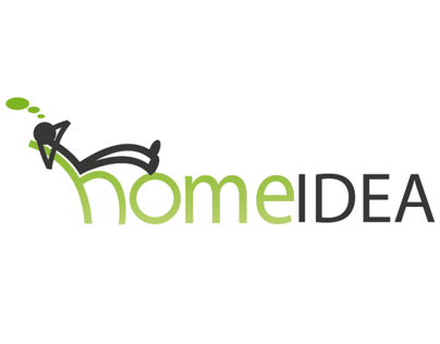 Home IDEA Logo design and Webdesign (plus wallpaper)