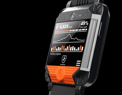 B&R Smart Watch Concept