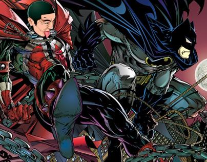 iSpawn & Batman / Digital Art