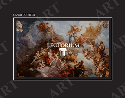 Educational website on history and art