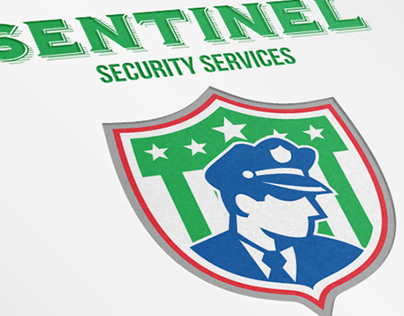 Sentinel Security Services Logo Template