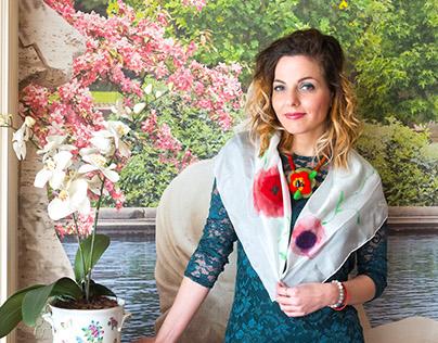 Spring2018silk scarves