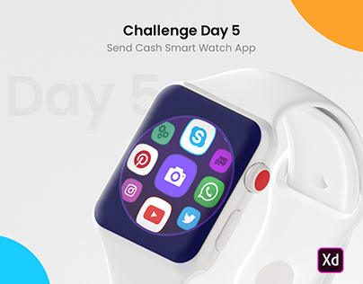 Challenge Day 5 - Send Cash Smart Watch App
