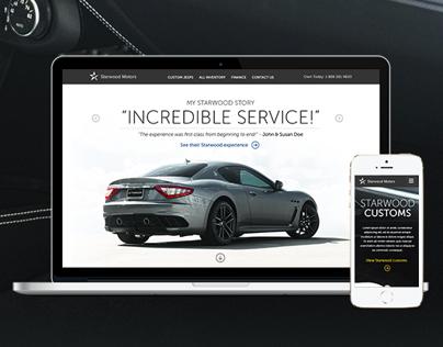 Luxury Car Dealership