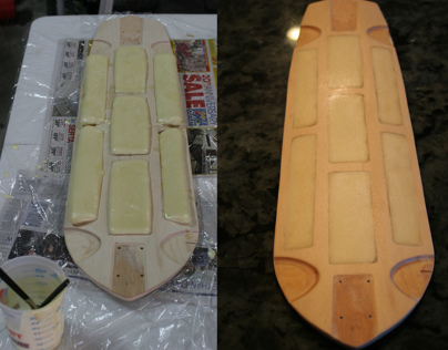 Tan Man Longboards, Foamcore, 2012