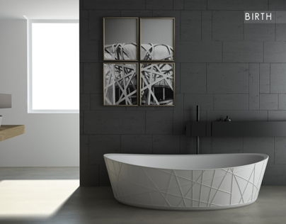 Birth | bathtub & washbasin