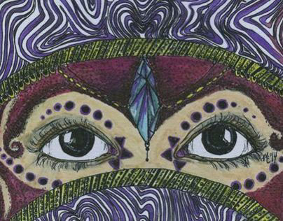 Colored Pen and Ink Project