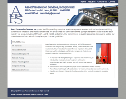 Asset Preservation Services, Incorporated