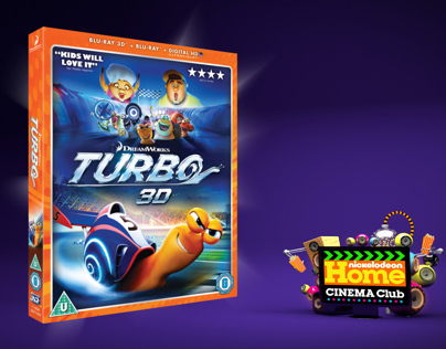 Nick Home Cinema Club - Turbo Blu-ray 3D