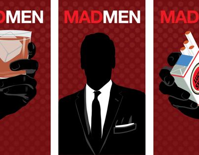 Mad Men Three-Part Poster