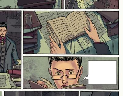 Haunter of the dark - Lovecraft - Comic