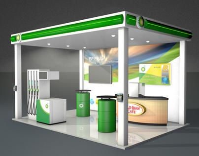 BP PLUS exhibition stand