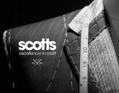 Scotts: Brand Positioning, Website & App Design