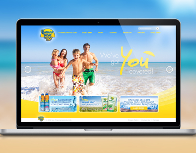 Banana Boat Website