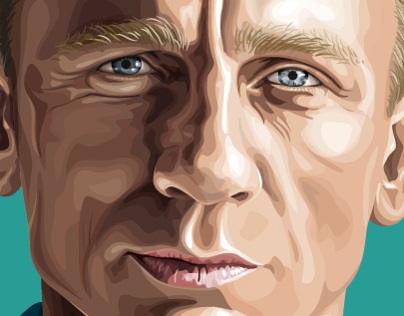 Daniel Craig Illustration