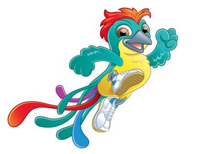 Creación mascota Juegos Suramericanos 2010