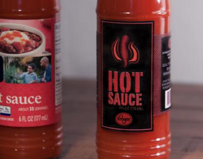 Hot Sauce Redesign