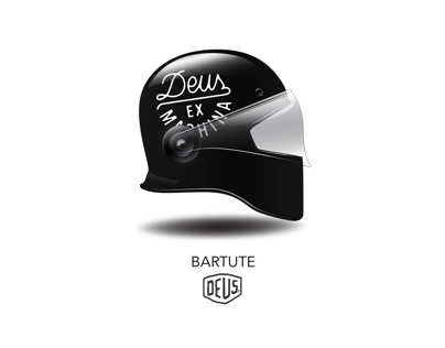 Motorcycle Helmet for Deus Ex Machina