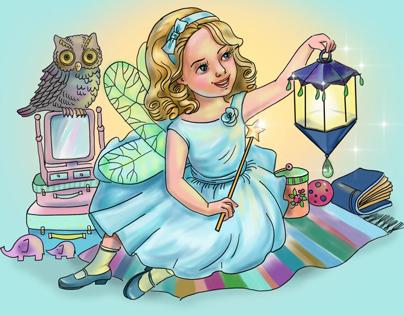 Card for girls