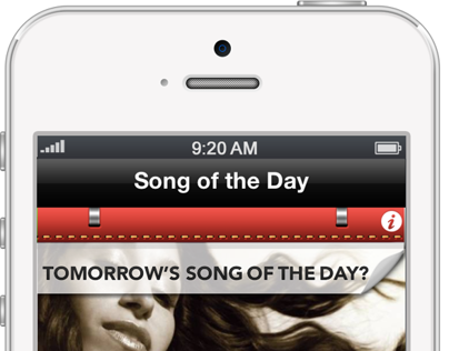 Song of the Day App