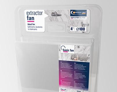 Blister packaging design