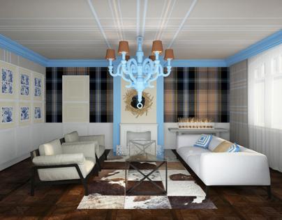 NOVOGORSK-7 COMPETITION living room