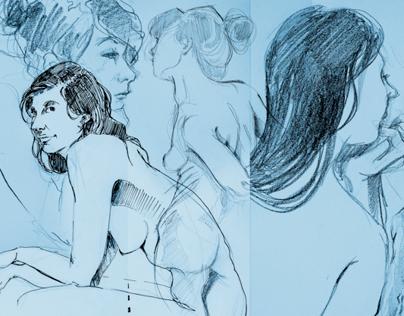 Live Drawing - L'age D'Or Paris II