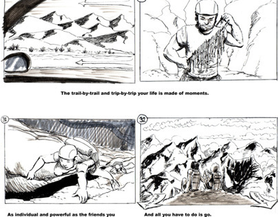 Days You Remember - Storyboards