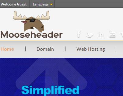 Motion Graphics - Webhosting - Mooseheader Host Inc.