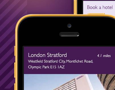 Premier Inn Mobile site 2013